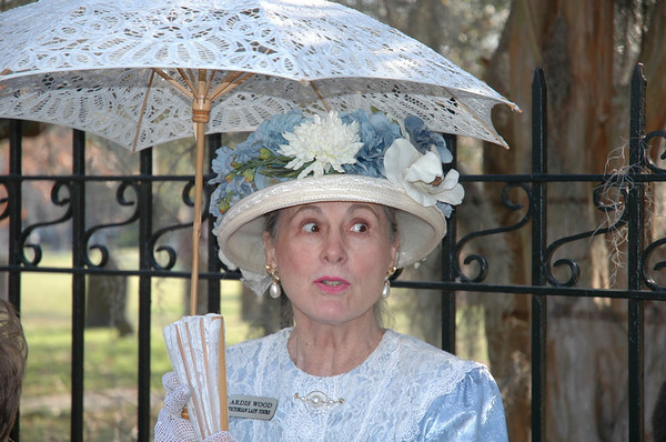 "Thursday, June 21<br /> MISS ARDIS<br /> <br /> Ardis Wood - Victorian Lady Tours<br /> Savannah, GA<br /> <br /> <a href=""http://savannah-visit.com/partners_display.asp?id=1699"">http://savannah-visit.com/partners_display.asp?id=1699</a><br /> <br /> <br /> This picture was taken in March.  She was our  guide on a walking tour of Savannah.<br /> What a beautiful city! <br /> <br /> <br /> <br /> <br /> <br /> <br /> <br /> more pictures of Savannah: <br /> <a href=""http://moorememories.smugmug.com/gallery/3039464"">http://moorememories.smugmug.com/gallery/3039464</a><br /> <br /> ""Savannah would be better for you. You'll just get in trouble in Atlanta.""<br /> ~ Gone with the Wind (Mammy to Scarlett O'Hara)"