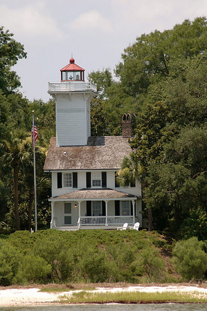 "Saturday, June 30<br /> HAIG POINT LIGHTHOUSE<br /> <br /> Daufuskie Island, SC<br /> <br /> <br /> <a href=""http://www.lighthousefriends.com/light.asp?ID=653"">http://www.lighthousefriends.com/light.asp?ID=653</a><br /> <br />       <br /> ""Anythin' for a quiet life, as the man said when he took the situation at the lighthouse""<br />  Charles Dickens"