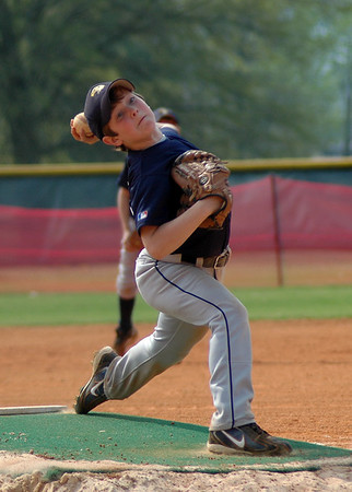 "Saturday, June 23<br /> PITCHER<br /> <br /> As my son's baseball season comes to an end, I wanted to post a shot of him pitching from this year.<br /> <br />  <br /> <br /> <br /> ""Pitching is the art of instilling fear.""<br />  ~Sandy Koufax"