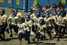 Took this Saturday at youth football game.  I love it when the players run through the cheerleaders!